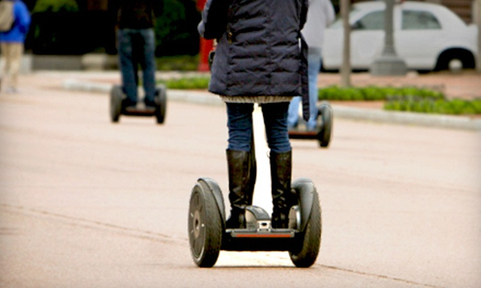 Boston Gliders - North End: Two-Hour Boston Segway Tour with Souvenir Photo or One-Hour Tour for One or Five from Boston Gliders (Up to 58% Off)