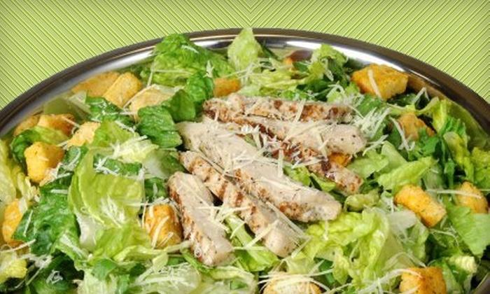 Salad Creations - North Las Vegas: $5 for $10 Worth of Custom Salads, Wraps, and Paninis at Salad Creations