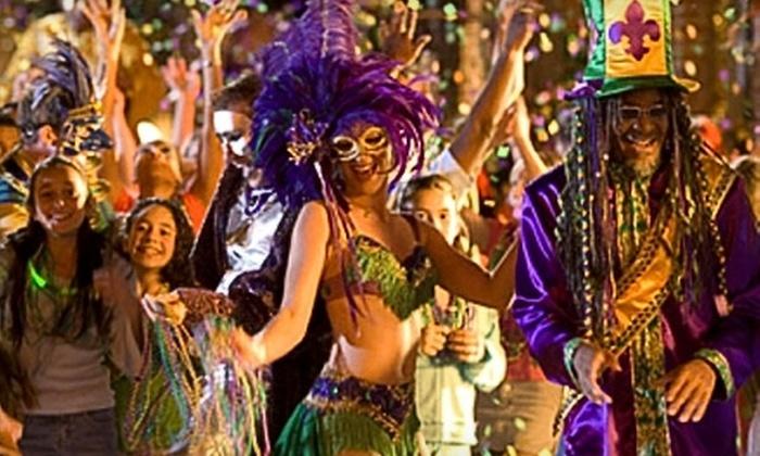 CF Media - Jacksonville Beach: $10 for Two Tickets to Mardi Gras Jax