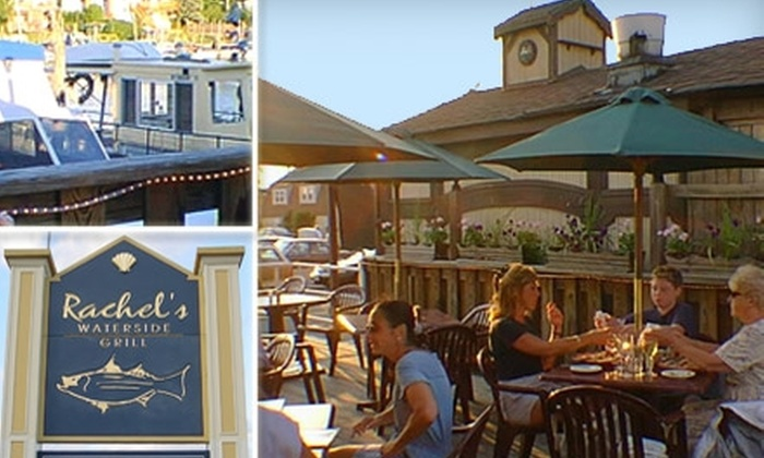 Rachel's Waterside Grill - Freeport: $15 for $30 Worth of Local Seafood and More at Rachel's Waterside Grill