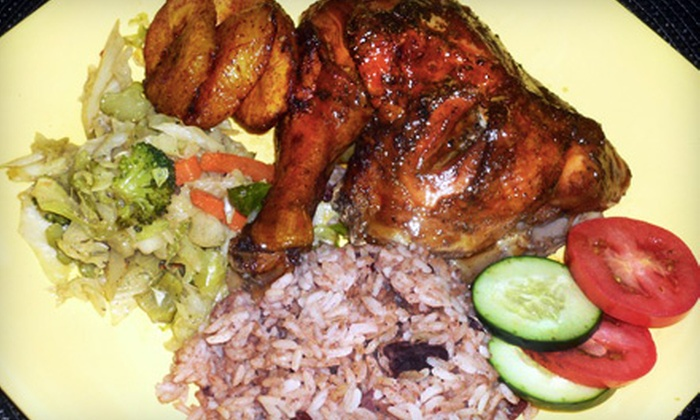 The Jerk Pit - Richmond: $7 for $15 Worth of Authentic Jamaican Fare at The Jerk Pit