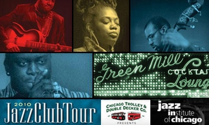 Jazz Institute of Chicago - Multiple Locations: $13 Admission to the Jazz Club Tour on Sept. 1 from the Jazz Institute of Chicago ($30 Value)
