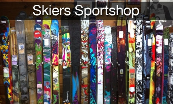 The Skier's Sportshop - Garneau: $24 for a Complete Snowboard or Ski Tune-Up at The Skier's Sportshop