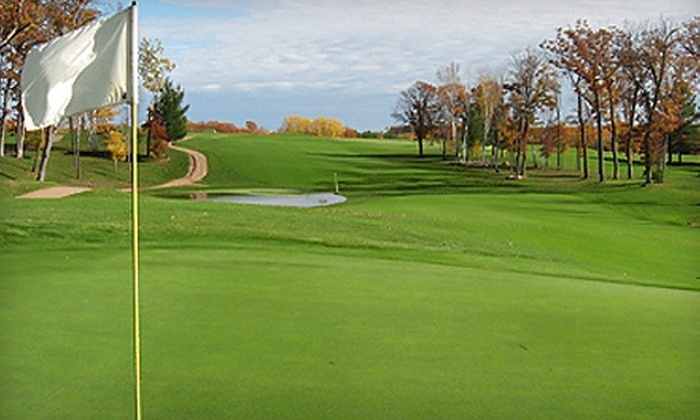 Siren National Golf Course - Siren: $35 for Two Rounds of Golf, Two Buckets of Balls, and Two Carts at Siren National Golf Course in Siren (Up to $104 Value)