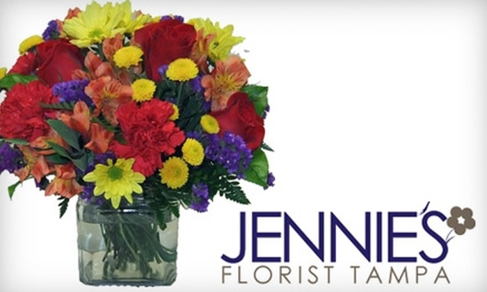 Jennie's Flowers - Northeast MacFarlane: $25 for $50 Worth of Blooms from Jennie's Flowers