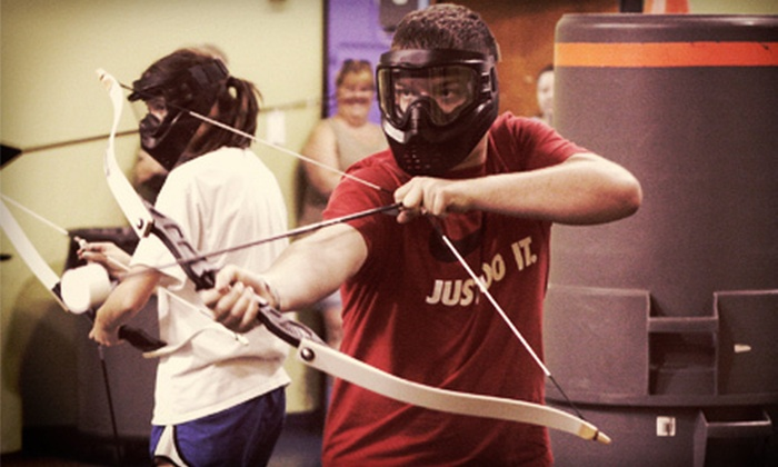 Group Dynamix - Southwest Carrollton: Two- or Three-Hour Archery-Tag Party for Up to 15 at Group Dynamix (Up to 51% Off)