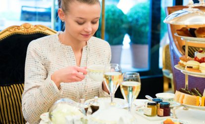 image for Decadent Afternoon Tea with Optional Prosecco for Two or Four at Best Western Royal Beach Hotel