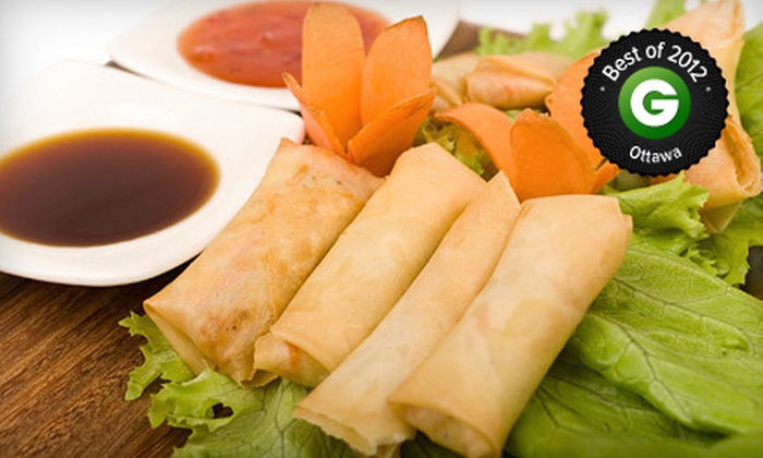 Rangoon Restaurant - Centretown - Downtown: Burmese Cuisine at Rangoon Restaurant (Up to 52% Off). Two Options Available.