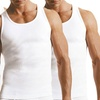 Men's 100% Cotton Ribbed Undershirts (6-Pack)
