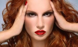 Aura Salon: A Women's Haircut with Shampoo and Style from Aura Salon (60% Off)