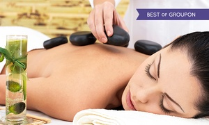 Sugar Rush: Choice of Massage or a Hot Stone Back, Neck and Shoulder and an Indian Head Masage at Sugar Rush (Up to 67% Off)