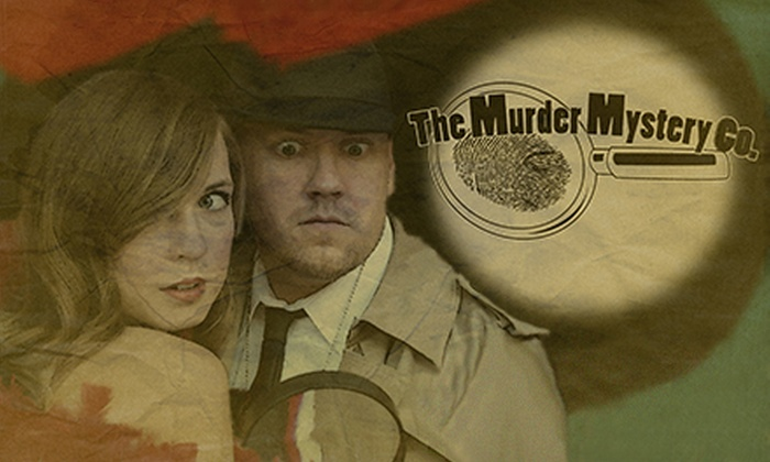 The Murder Mystery Company - Edison's: Dinner Show for One or Two from The Murder Mystery Company (Up to 52% Off)