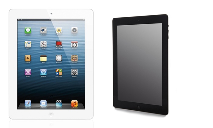 Apple 128GB iPad 4 with Retina Display - WiFi and 4G Unlocked: Apple 128GB iPad 4 with Retina Display - Wifi and 4G Unlocked in Black or White.