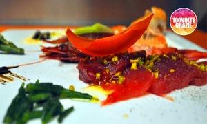 Baccarossa: Corso di cucina tra l'orto e il mare alla scuola di cucina Michelin del ristorante Baccarossa (sconto fino a 63%)