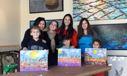 Art Lessons for Children and Parents at Signature of Art (Up to 42% Off). Three Options Available.