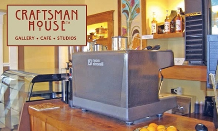 Craftsman House - Historic Kenwood: $5 for $10 Worth of Café Eats and Drinks at Craftsman House