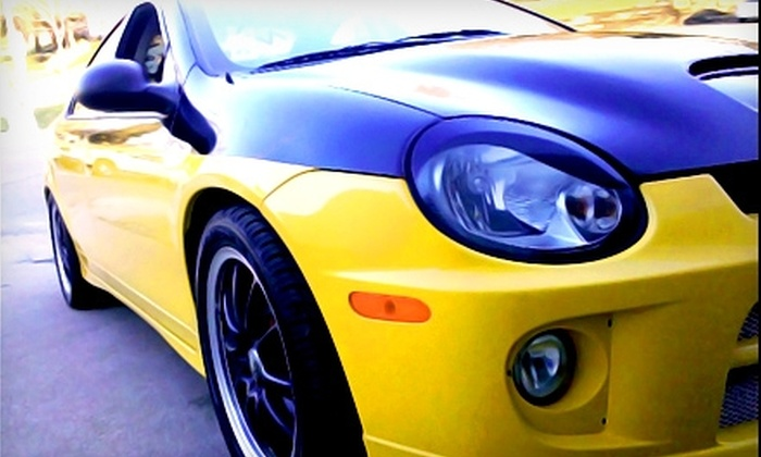 Z.I.P.'s Detail Center - Omaha: Hand Car Wash and Wax at Z.I.P.'s Detail Center. Three Options Available.