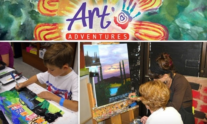 Art Adventures - Midlothian: $35 for One Month of Art Classes and Free Registration at Art Adventures ($114 Value)
