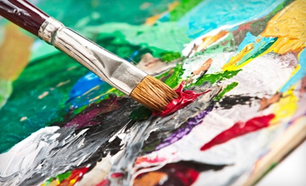 BYOB Canvas Painting Class for One (a $35 value) - Cajun Canvas in Charlotte