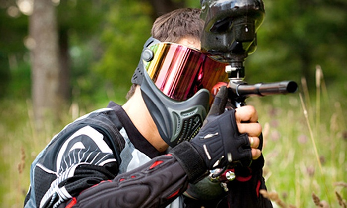 Divide N Conquer Paintball - Delisle: $25 for Paintball Package for Two at Divide N Conquer Paintball in Delisle (Up to $70 Value)