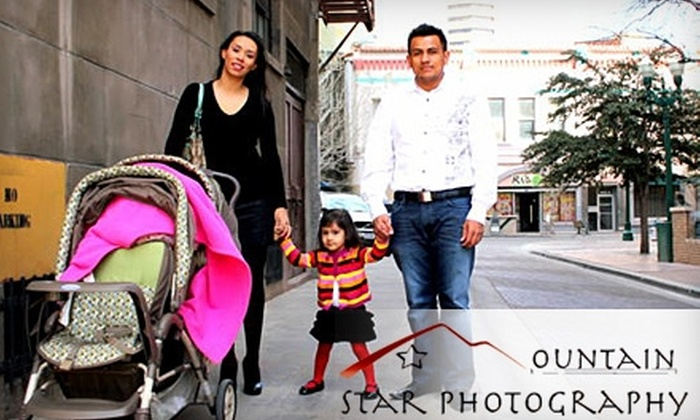 Mountain Star Photography - El Paso Northwest: $25 for a One-Hour Photography Session, Plus a CD of Images, at Mountain Star Photography