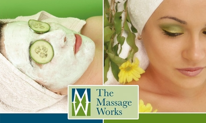 The Massage Works - Euless: $49 for Choice of Stress-Buster Massage or Sugar-Smoothie Facial Toning With One Add-On at The Massage Works ($100 Value)