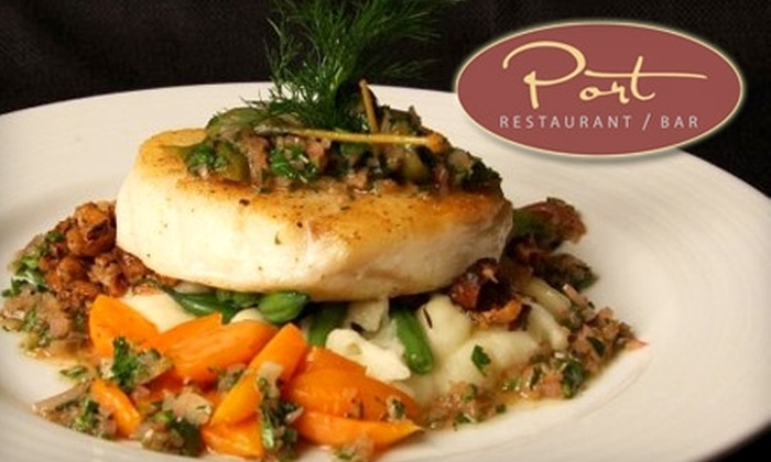 Port Restaurant and Bar - Corona Del Mar: $20 for $40 Worth of Upscale, Seasonal Fare and Drinks at Port Restaurant and Bar in Corona del Mar