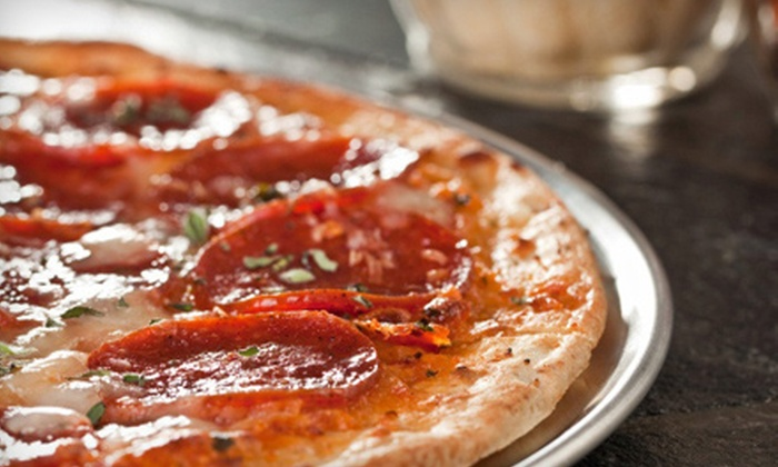 Caraglio's Pizza - Multiple Locations: $10 for a Large Cheese Pizza and 12 Boneless Chicken Wings at Caraglio's Pizza (Up to $19.97 Value)