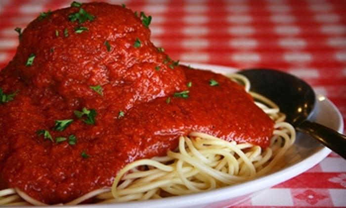 Saucy Noodle Ristorante - Belcaro: $15 for $30 Worth of Italian Dinner and Drinks at the Saucy Noodle Ristorante (or $10 for $20 Worth of Lunch)
