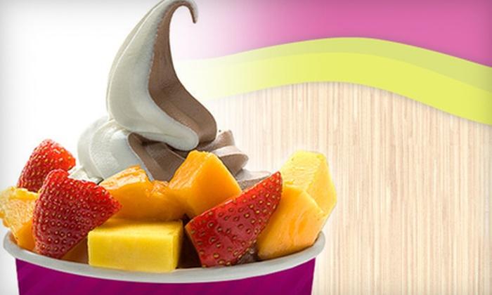 Menchie's Frozen Yogurt - Rhodes Ranch: Frozen Yogurt at Menchie's Frozen Yogurt (Half Off). Two Options Available.