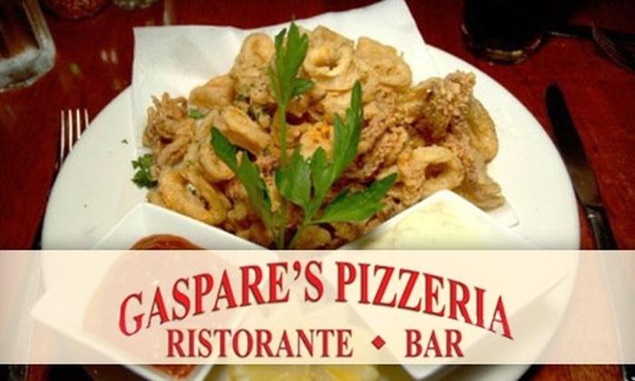 Gaspare's Pizzeria Ristorante Bar - San Francisco: $10 for $20 Worth of Italian Fare at Gaspare's Pizzeria Ristorante Bar in San Rafael