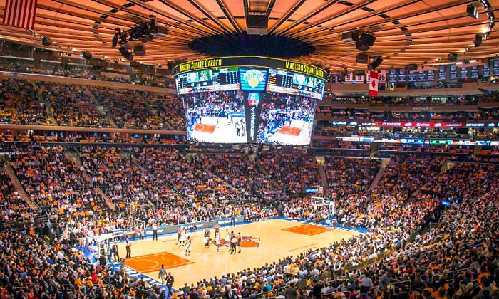New York Knicks - Madison Square Garden: NY Knicks Game at Madison Square Garden on Jan. 19 or 23. Seating Options Starting at $56.
