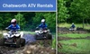Chatsworth ATV Rentals - Mansfield: $70 for a 3-Hour-Long ATV Ride with Chatsworth ATV Rentals