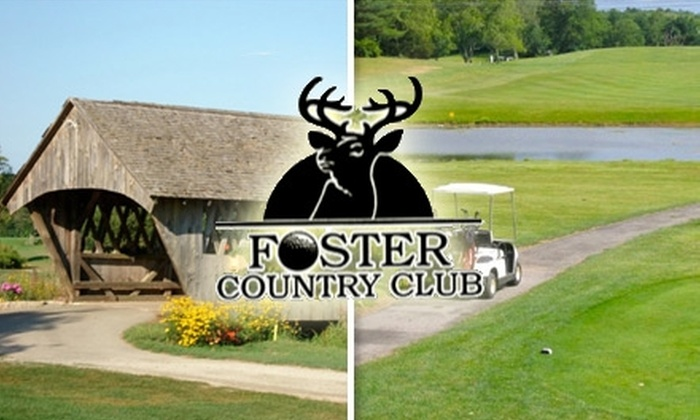 Foster Country Club - Foster: $25 for 18 Holes and Cart at Foster Country Club (Up to $67 Value)