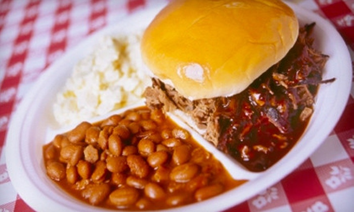 Dick's Bodacious Bar-B-Q - Downtown Indianapolis: $10 for $20 Worth of Barbecue at Dick's Bodacious Bar-B-Q
