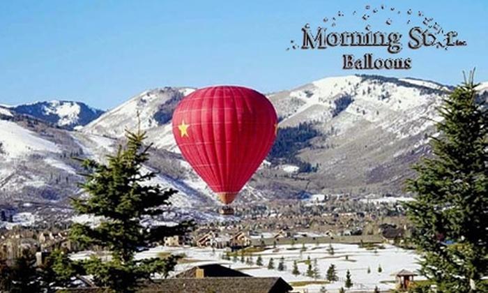 Morning Star Balloons - Salt Lake City: $125 for a One-Hour Hot Air Balloon Ride with Morning Star Balloons ($200 Value)