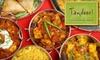 Tandoori Oven - Multiple Locations: $7 for $15 Worth of North Indian Cuisine at Tandoori Oven