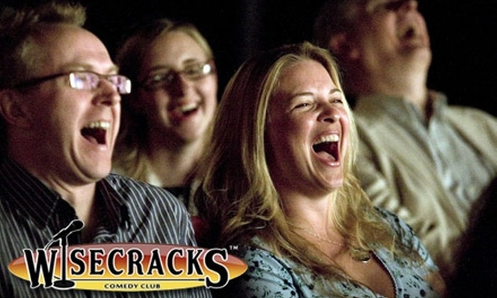 Wisecracks Comedy Club - Multiple Locations: $6 for Single Admission ($12 Value) or $54 for 10 Passes ($120 Value) to Any Comedy Show at Wisecracks Comedy Club