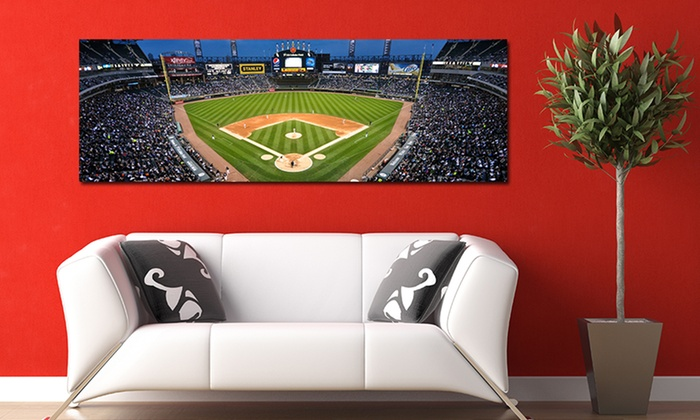 Gallery-Wrapped MLB Stadium Canvas Print: Gallery-Wrapped MLB Stadium Canvas Print. Multiple Stadiums Available. Free Returns.
