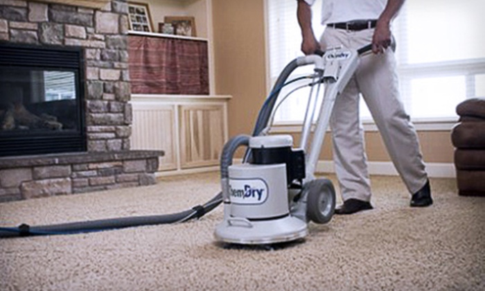 ChemDry By Edward - Crestview - Meadowlands: Green Carpet Cleaning for Three Rooms or Upholstery Cleaning for Couch and Chair from ChemDry By Edward (Up to 57% Off)