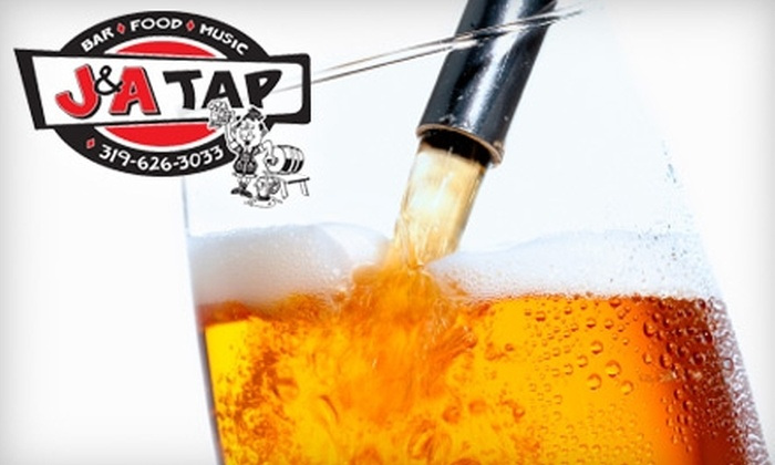 J&A Tap - Penn: $5 for $10 Worth of Pub Fare and Drinks at J&A Tap