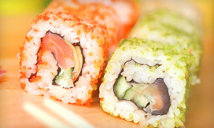 Aki Japanese Cuisine - Brunswick: $12 for $25 Worth of Sushi, Hibachi, and Fresh Japanese Fare at Aki Japanese Cuisine in Brunswick