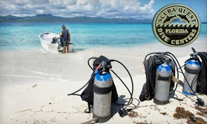 Scuba Quest - Hancock: $169 for Scuba Certification Class at Scuba Quest ($350 Value)