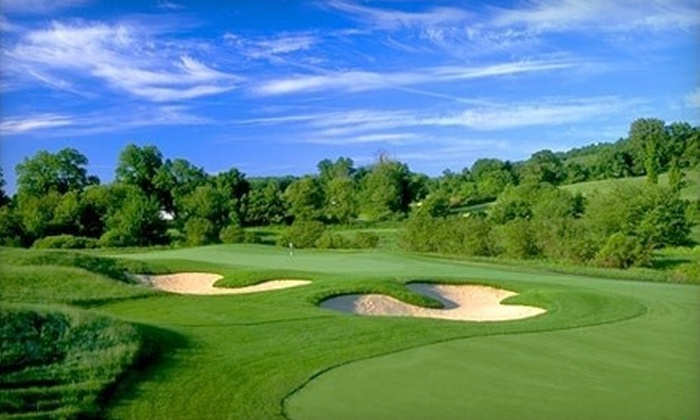 The Ranch Golf Club - Southwick: $69 for One Round of Golf with Cart at The Ranch Golf Club in Southwick (Up to $110 Value)