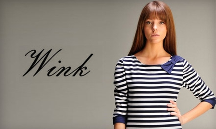 Wink Boutique - Fuquay-Varina: $25 for $50 Worth of Clothing and Accessories at Wink Boutique in Fuquay-Varina