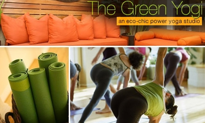 The Green Yogi - Los Angeles: $5 for Three Yoga Classes at The Green Yogi in Manhattan Beach ($20 Value)