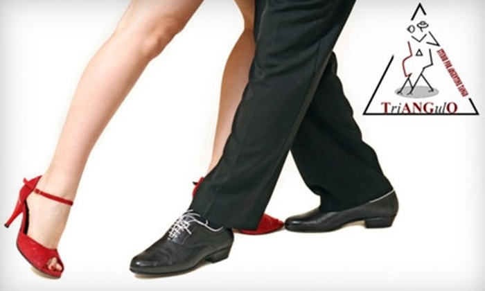 Triangulo - Chelsea: $40 for Four Beginner Tango Classes and Two Open Dance Sessions at Triangulo ($80 Value)