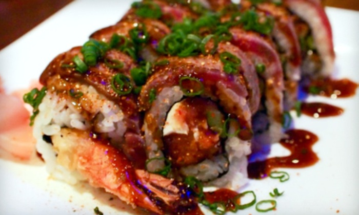 Phin Sushi - Bellevue: $20 For $40 Worth of Japanese Fare at Phin Sushi
