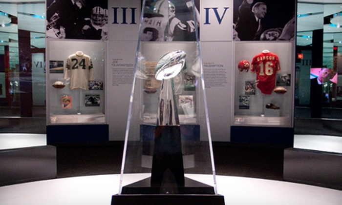 Pro Football Hall of Fame - Canton: Museum Visit or Museum Visit and 2011 Football Yearbook at Pro Football Hall of Fame (Up to 55% Off)