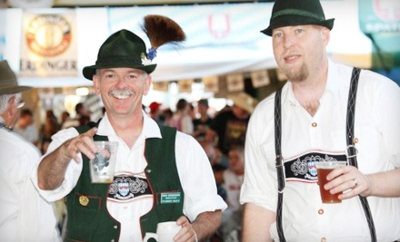 Oktoberfest hosted by Old German Restaurant at Choctaw Creek Park from Fri., Sept 2 through Sun., Sept. 4 and Wed., Sept 7 through Sat., Sept. 10: 1-Day Admission - Oktoberfest in Choctaw